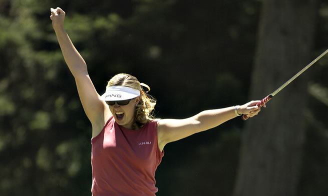 2003 Hilary Lunke Wins US Womens Open