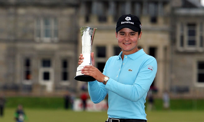 2007 Lorena Ochoa Wins Womens British Open
