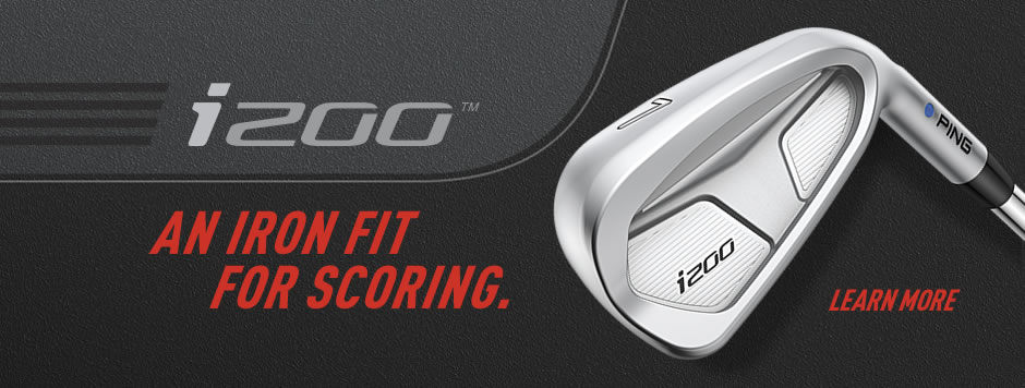 Introducing the i200 iron - an iron fit for scoring. Click to learn more.
